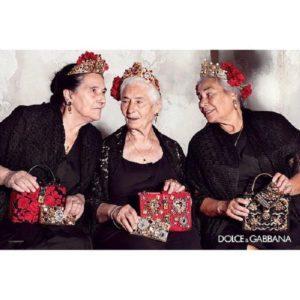 Seniorki i señority u Dolce & Gabbana