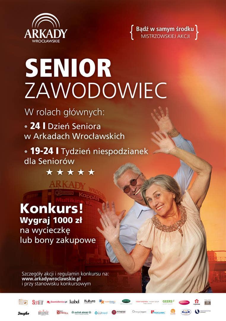 Tylko dla Seniorów! Tydzień Niespodzianek w Arkadach Wrocławskich
