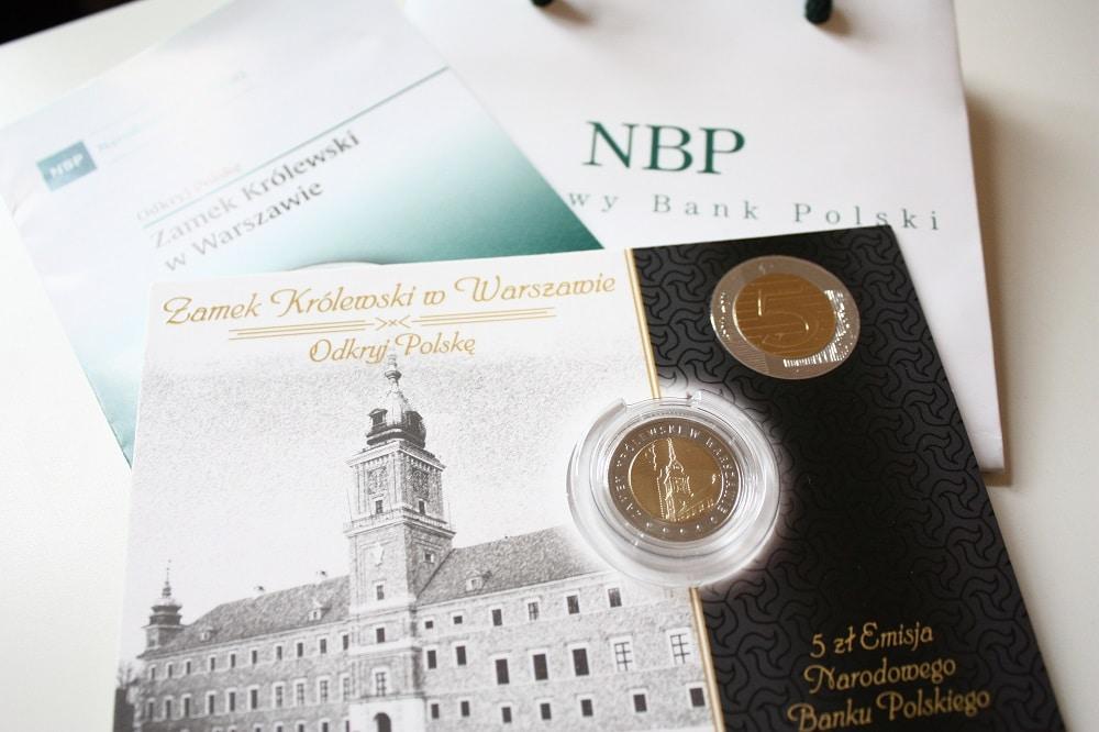 Konkurs! Do wygrania monety z Zamkiem Królewskim w Warszawie