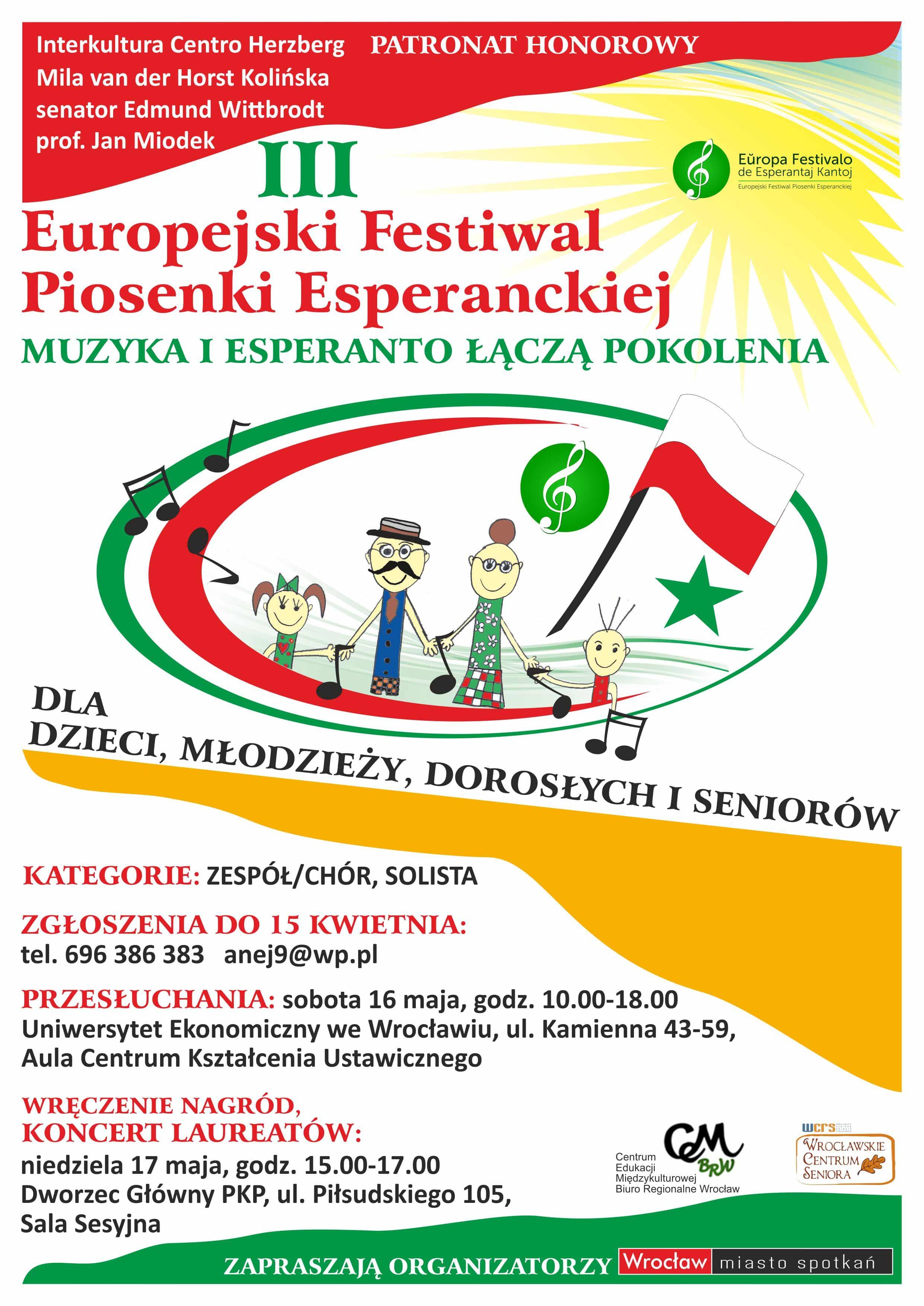 16-17.05.15_FESTIWAL PIOSENKI ESPERANCKIEJ_plakat_poprawiony-25.03.15