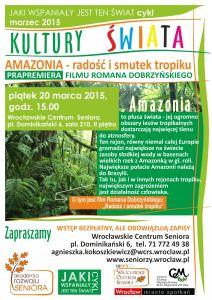 Amazonia: radość i smutek tropiku – prapremiera filmu Romana Dobrzyńskiego