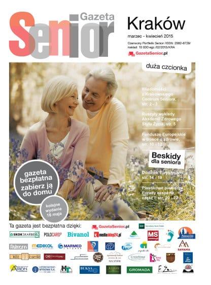 Gazeta Senior, Kraków i Małopolska, marzec - kwiecień 2015