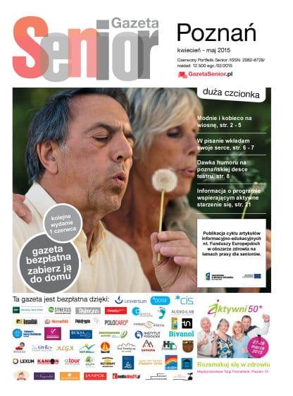 Gazeta Senior, Poznań i Wielkopolska, kwiecień - maj 2015