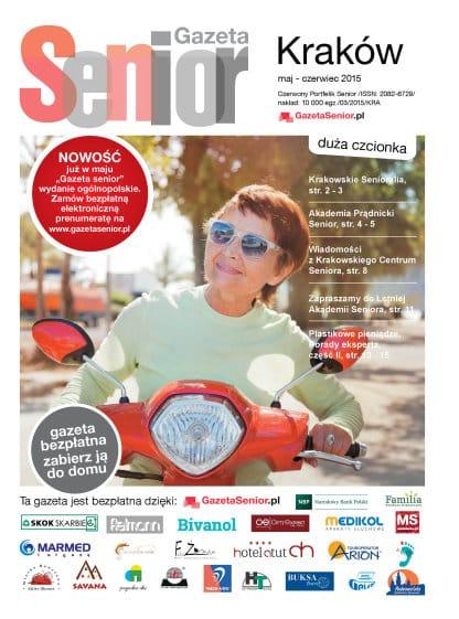 Gazeta Senior, Kraków i Małopolska, maj - czerwiec 2015