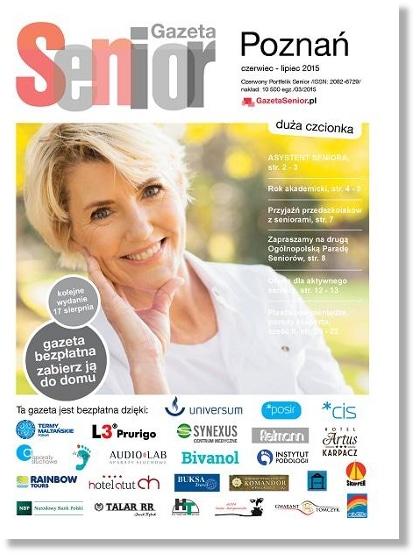 Gazeta Senior, Poznań i Wielkopolska, czerwiec - lipiec 2015
