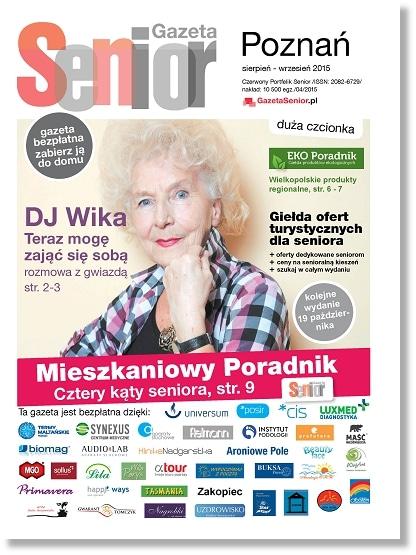 Gazeta Senior Poznań sie wrze okl