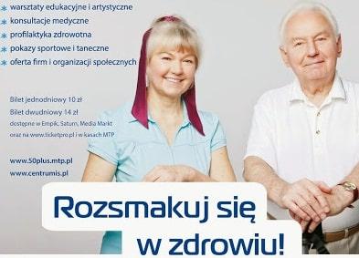 Program Targów Aktywni 50+ Poznań 27-28 marca