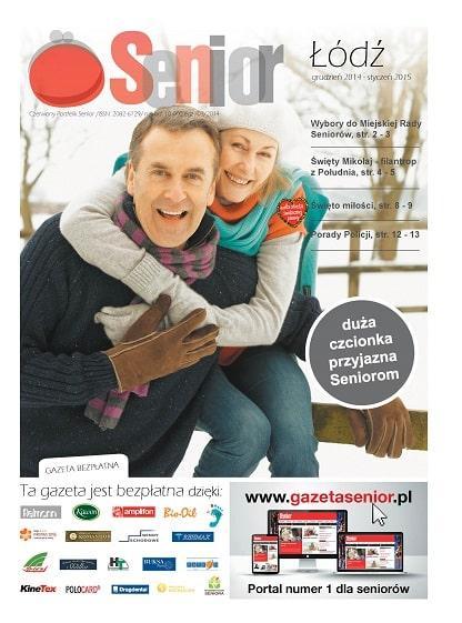 Gazeta Senior, Łódź, województwo łódzkie, grudzień 2014 - styczeń 2015