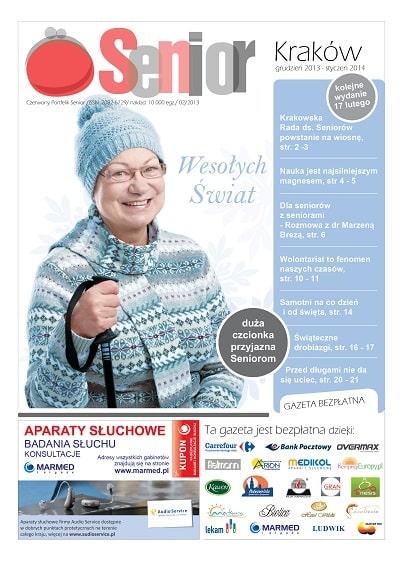 Gazeta Senior, Kraków i Małopolska, grudzień 2013 - styczeń 2014