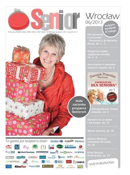 Gazeta Senior, Wrocław i Dolny Śląsk, grudzień 2013 - styczeń 2014