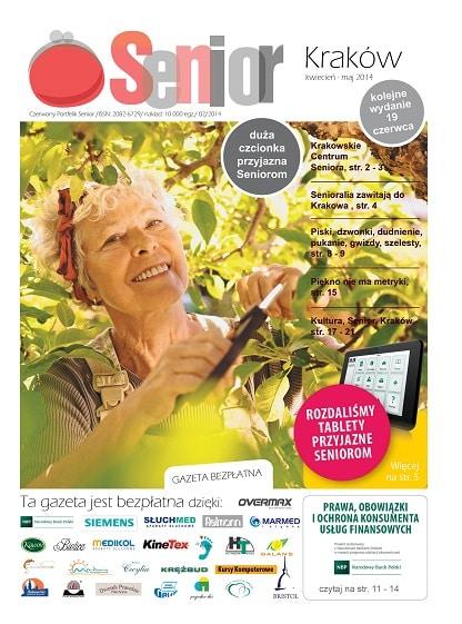 Gazeta Senior, Kraków i Małopolska, kwiecień - maj 2014