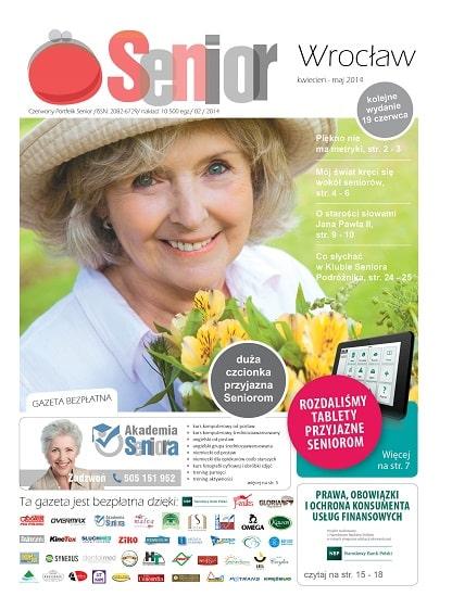 Gazeta Senior, Wrocław i Dolny Śląsk, kwiecień - maj 2014