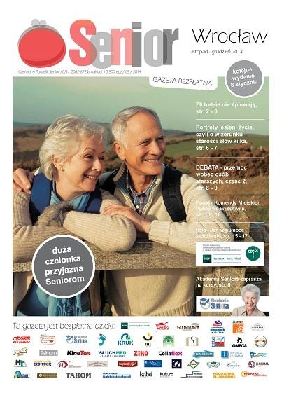 Gazeta Senior, Wrocław i Dolny Śląsk, listopad - grudzień 2014