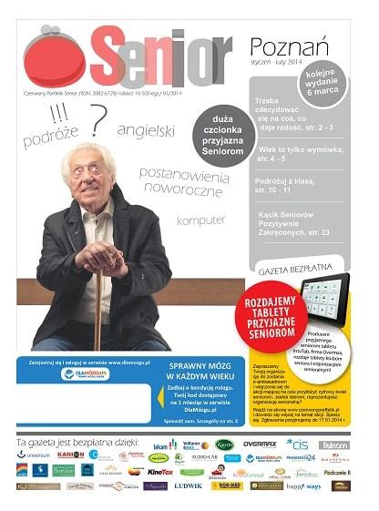 Gazeta Senior, Poznań i Wielkopolska, styczeń - luty 2014
