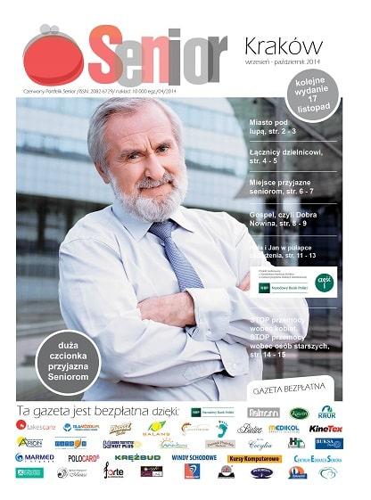 Gazeta Senior, Kraków i Małopolska, wrzesień - październik 2014