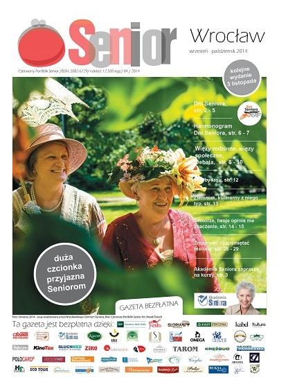 Gazeta Senior, Wrocław i Dolny Śląsk, wrzesień - październik 2014