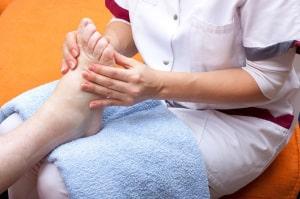Pielęgnacja stopy cukrzycowej