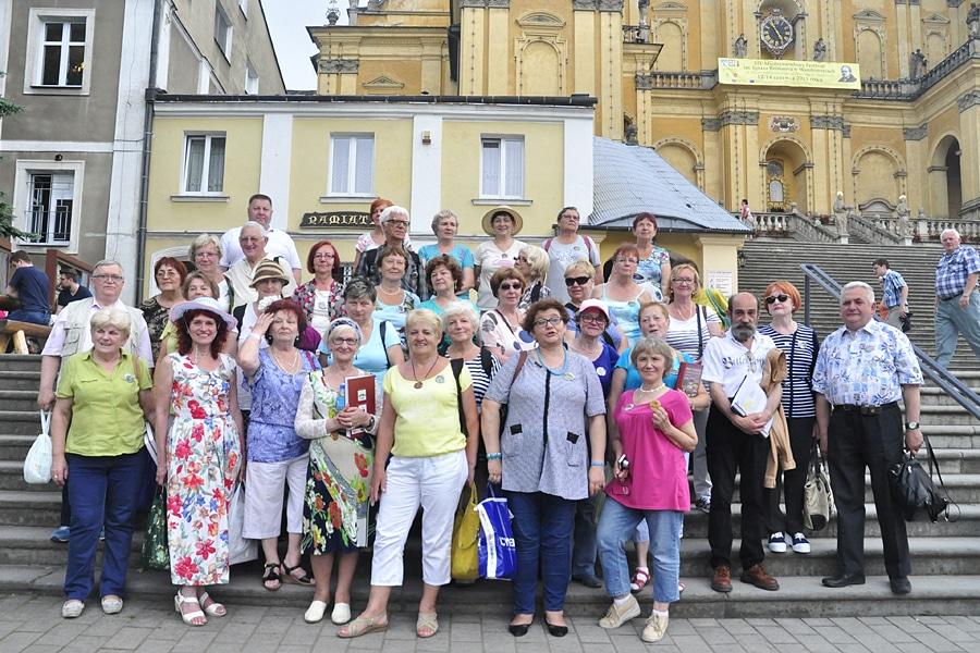 Seniorzy w Wambierzycach