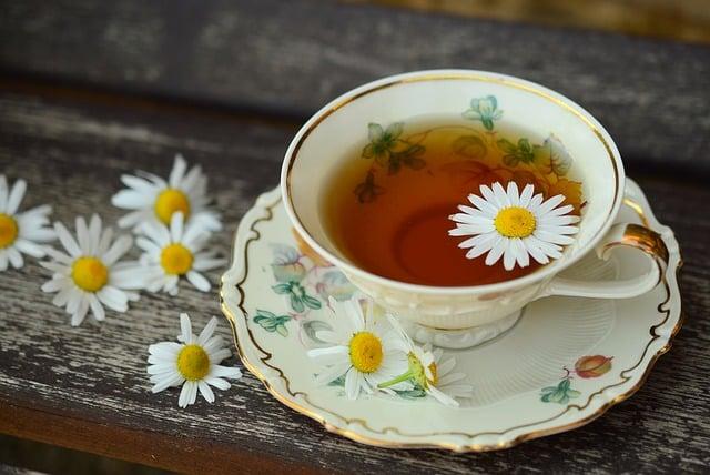 Gorąca herbata najlepsza na upał?