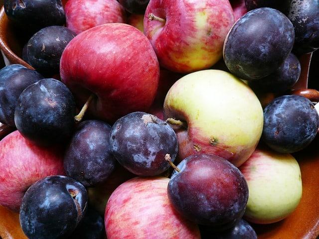 Śliwki i jabłka, czyli skarby jesieni