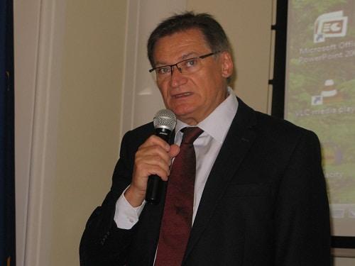 Bolesław Samoliński - przewodniczący Rady ds. Polityki Senioralnej