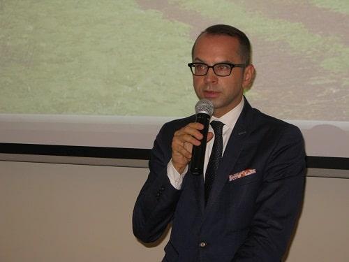 Poseł Michał Szczerba - przewodniczący sejmowej Komisji Senioralnej