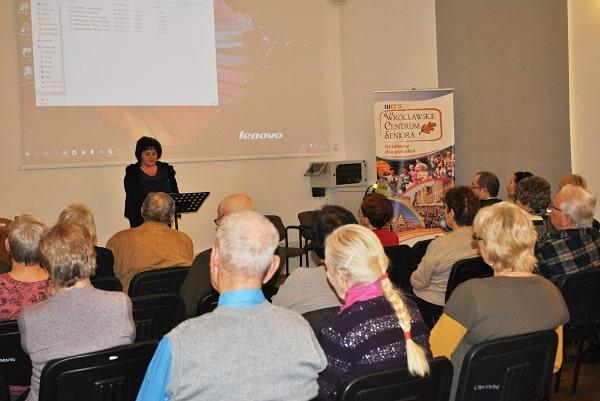seniorzy na spotkaniu w WCS3 Agnieszka Kokoszkiewicz