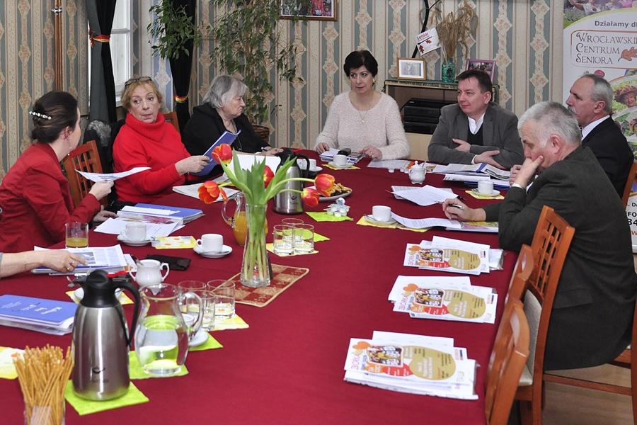 Z posiedzenia Wrocławskiej Rady Seniorów