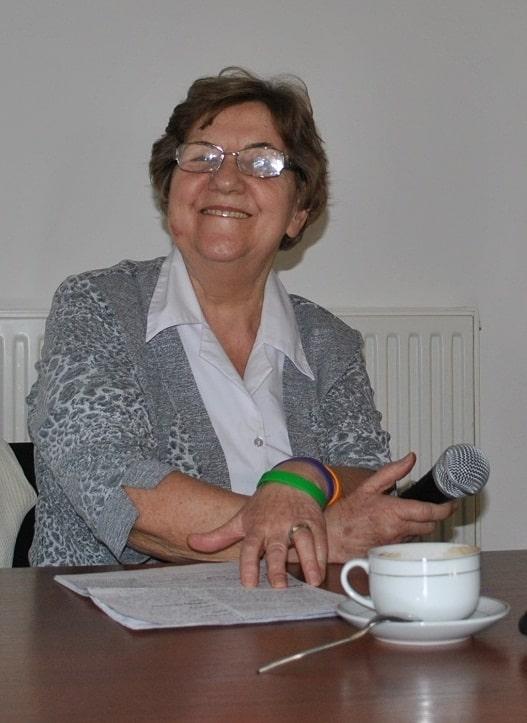 Anna Padewska na spotkaniu Klubu Seniora Podróżnika