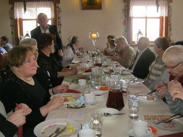 seniorzy podczas III Zgorzeleckich Spotkań Dolnośląskich Seniorów