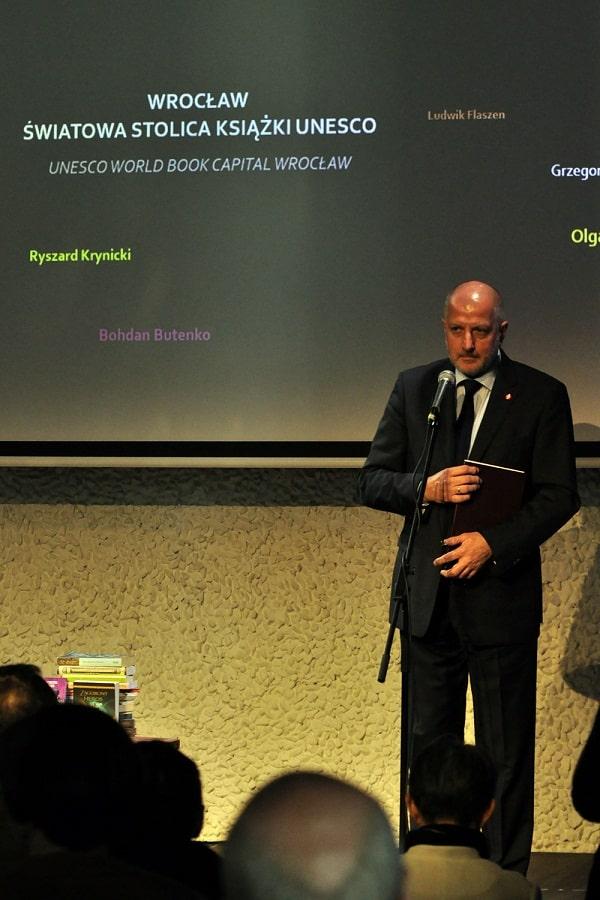 prezydent Dutkiewicz Wrocław Europejska Stolica Książki