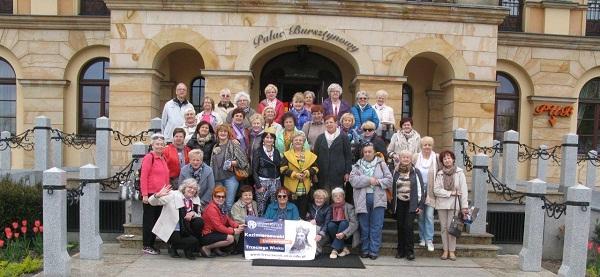 Seniorzy w Pałacu Bursztynowym