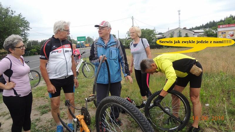Seniorzy śmigali na rowerach po Puszczy Bydgoskiej