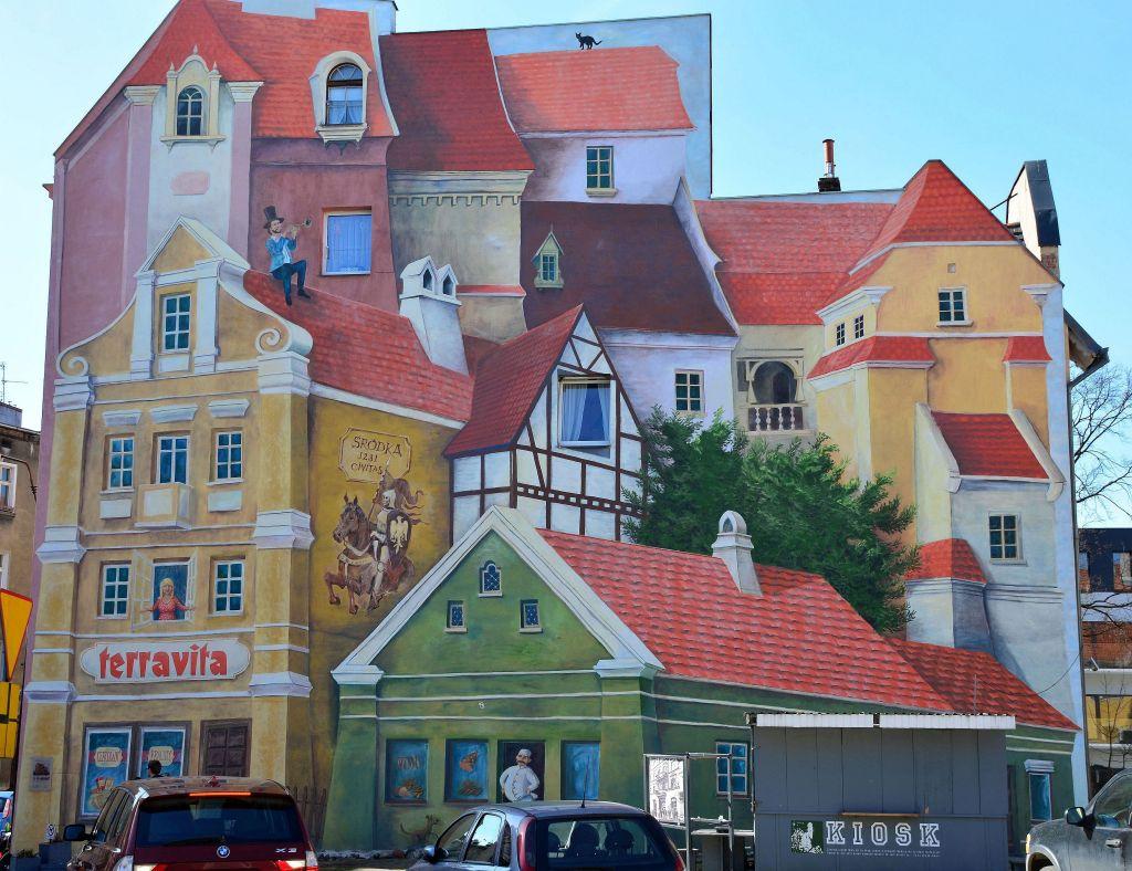 Mural 3D_Poznań