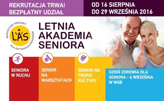 Letnia Akademia Seniora. Wyższa Szkoła Biznesu. Dąbrowa Górnicza