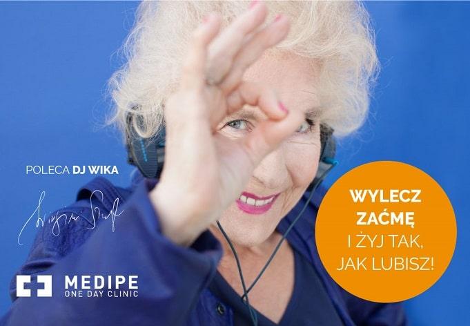DJ Wika w kampanii na temat leczenia zaćmy