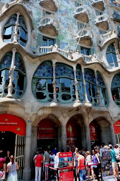 Na ławeczce w Barcelonie