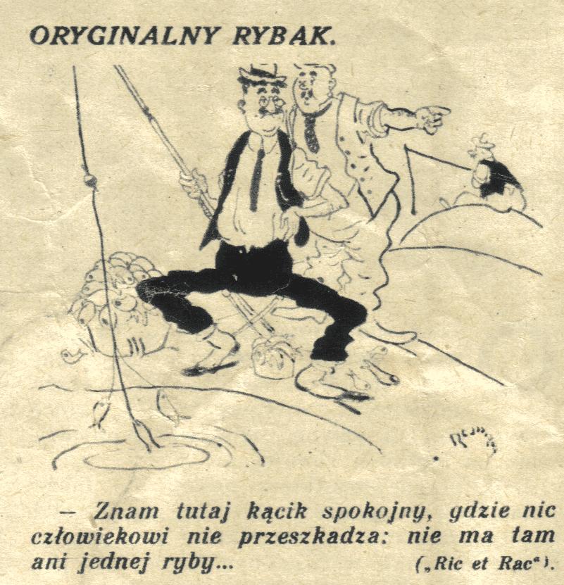 Oryginalny Rybak