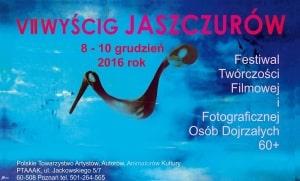 VII WYŚCIG JASZCZURÓW – festiwal Niezależnej Twórczości Filmowej Osób Dojrzałych 60 plus