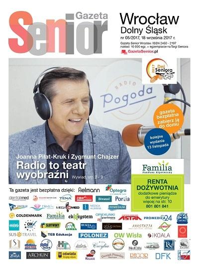 Gazeta Senior Wrocław 5.2017 okładka