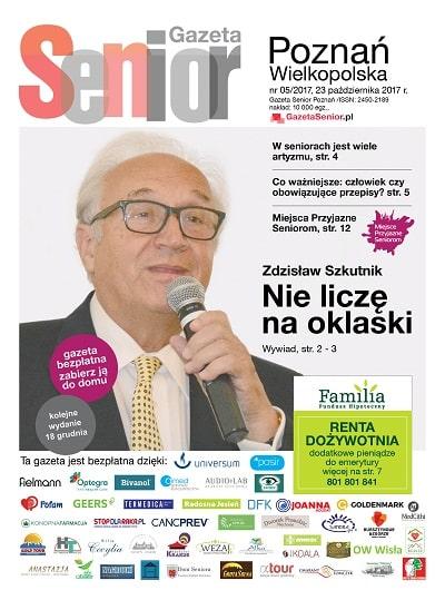 Gazeta Senior Poznań 5_2017_okładka