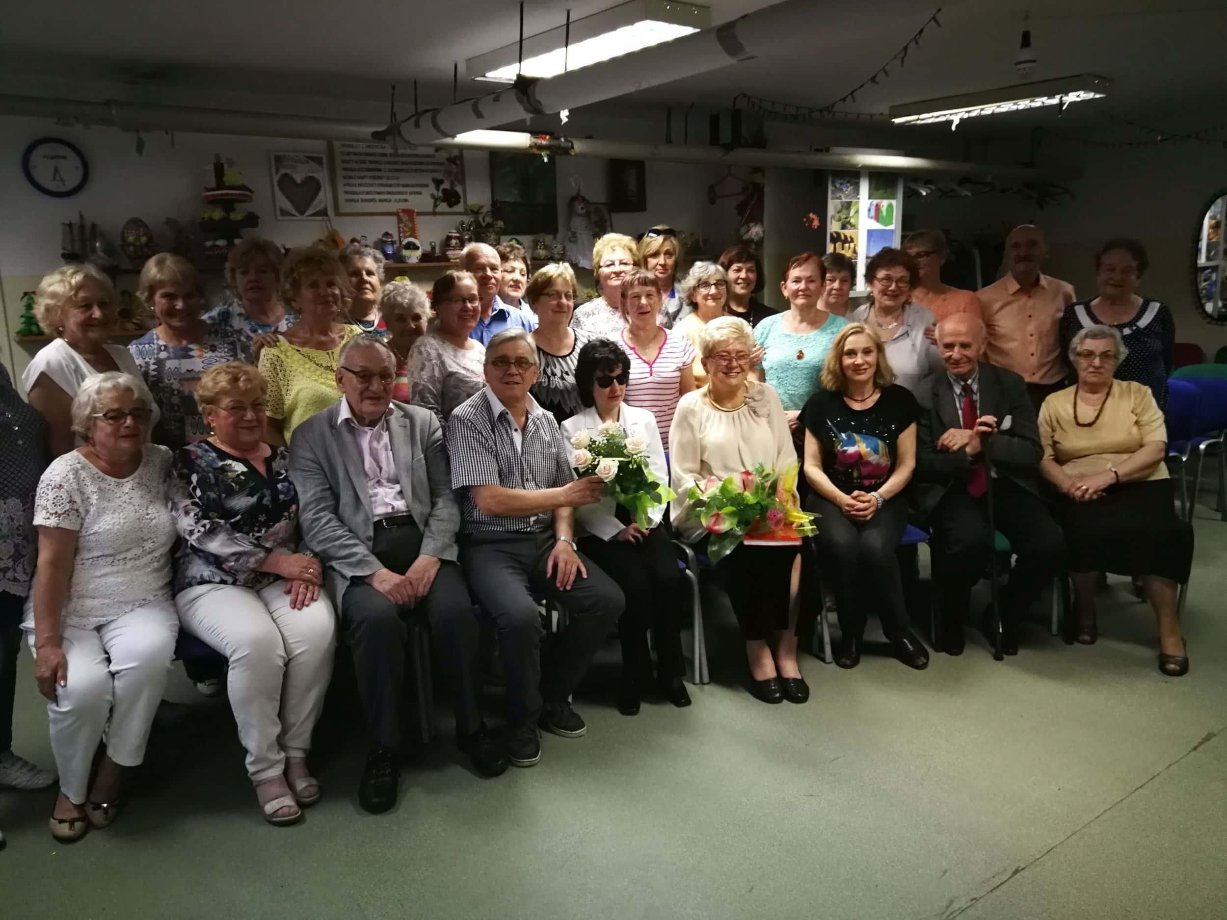 Klub Seniora Magnolia – spotkanie z poezją i muzyką