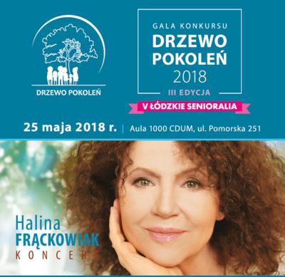 Drzewo Pokoleń konkurs. Koncert Halina Frąckowiak