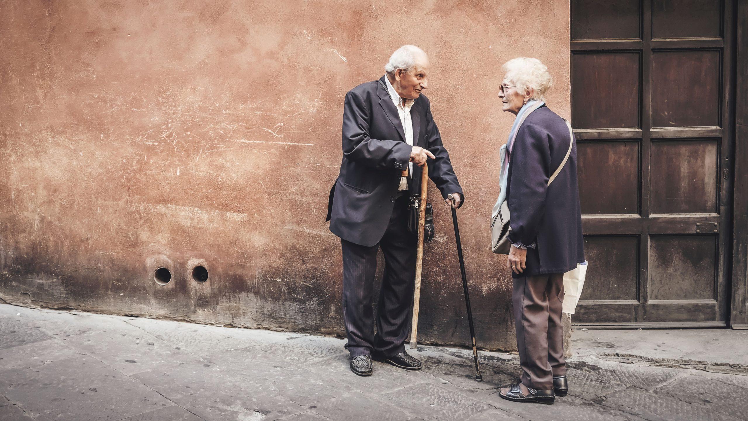 Ruchowy kurs włoskiego dla seniorów