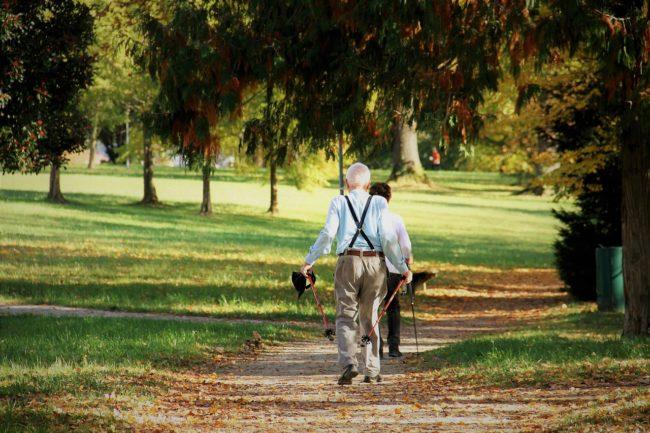 Codzienna aktywność (np. nordic walking) podnosi jakość życia