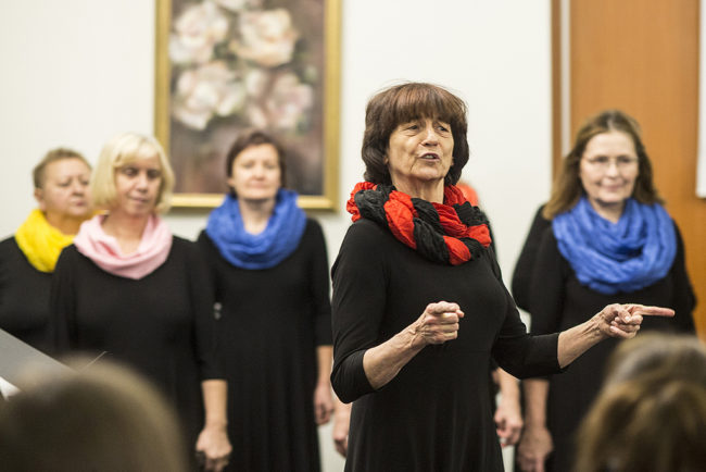Krystyna Stańczak-Pałyga (fot. Towarzystwo Inicjatyw Twórczych ę) - Seniorzy w Akcji 2019