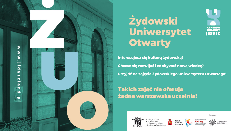 Żydowski Uniwersytet Otwarty – rusza nowy semestr