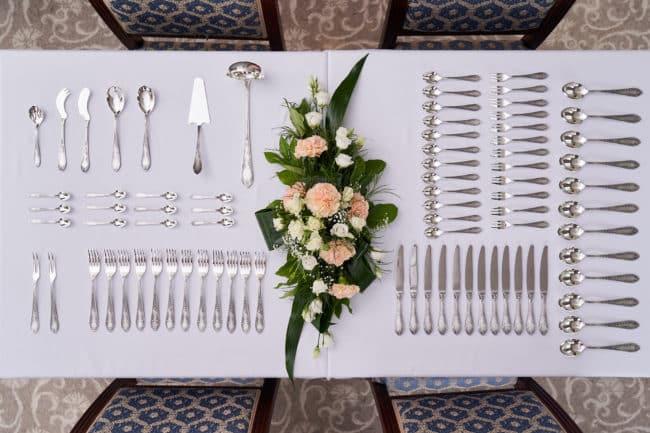 Dekoracja stołu - sztućce (fot. HEFRA)