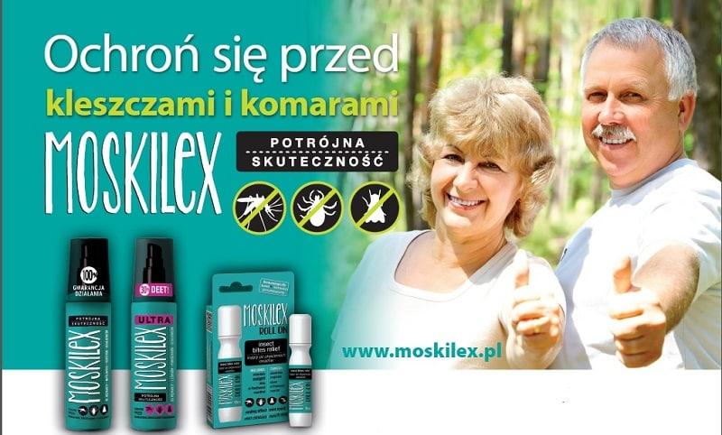 Moskilex na komary i kleszcze