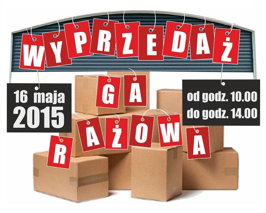 Wyprzedaż garażowa na Grabiszynku